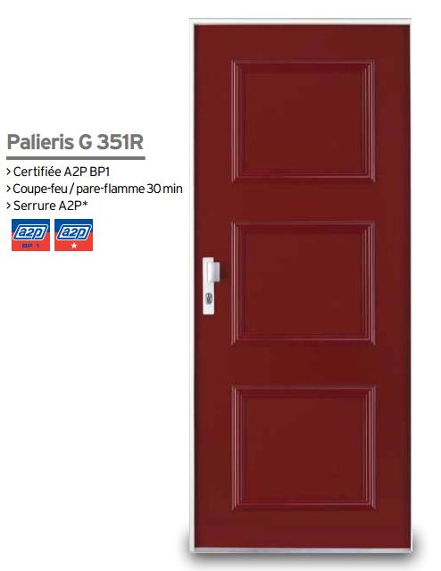 Mod le de porte blind e palieris g351r serrurerie for Ouvrir une porte blindee