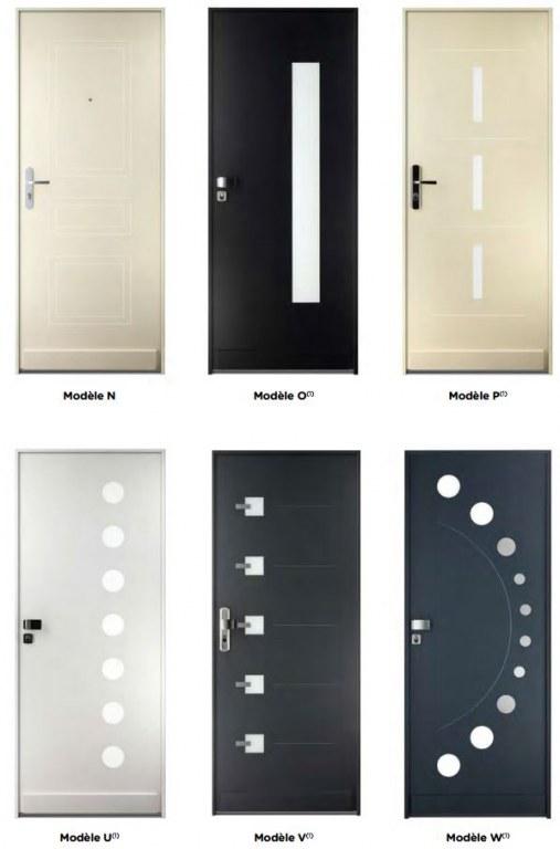 Fichet stylea porte de maison blind e point fort - Promesse de porte fort modele ...