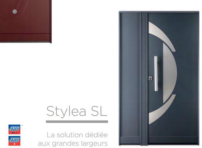 fichet stylea porte de maison blind e point fort. Black Bedroom Furniture Sets. Home Design Ideas