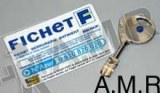 Clef Fichet 787 Z